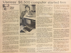 5D Record Article 1984